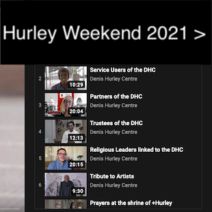 Hurley Weekend 2021 button